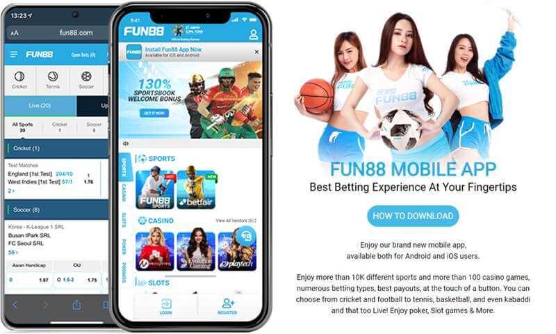 Fun88 Online Mobile Optimization