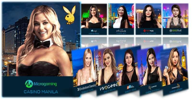 Casino Live Games by HappylukeAsia