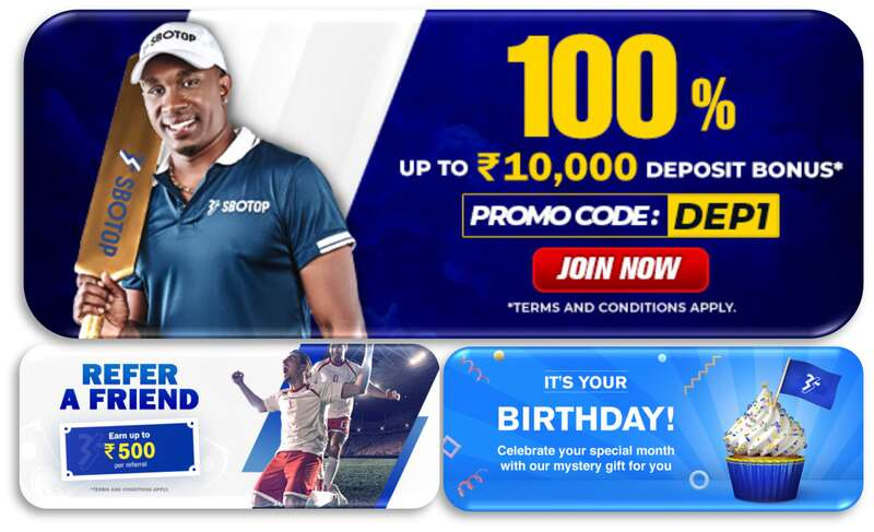 Promotions Only at Sbotop Online