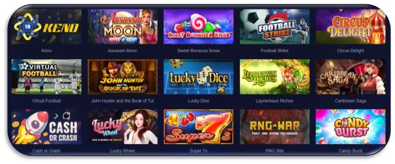 Sbotop In Live-Casino, Slots Games and Many More - Games