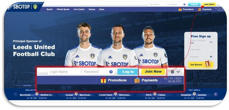 Easy Steps on How to Register Sbotop - Join Now