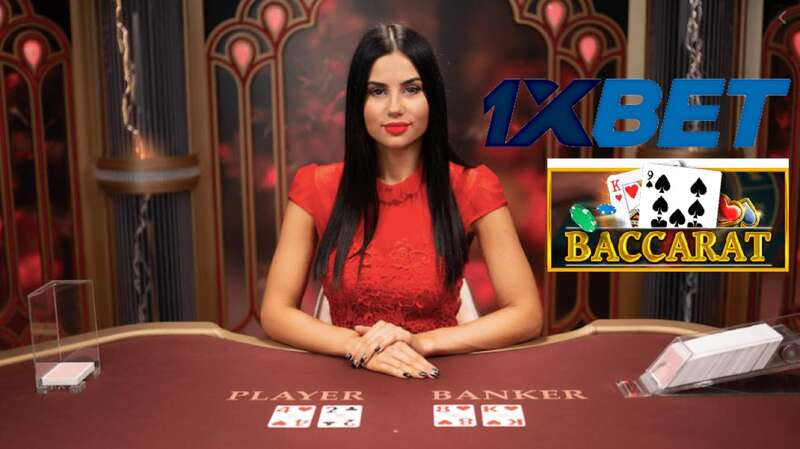 How to play Baccarat 1XBET Feature
