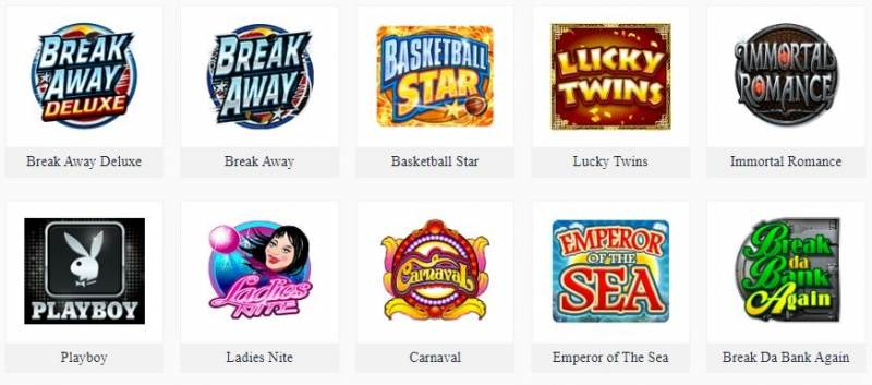 Gigantic Collections of Slot Game Fun88 - Microgaming