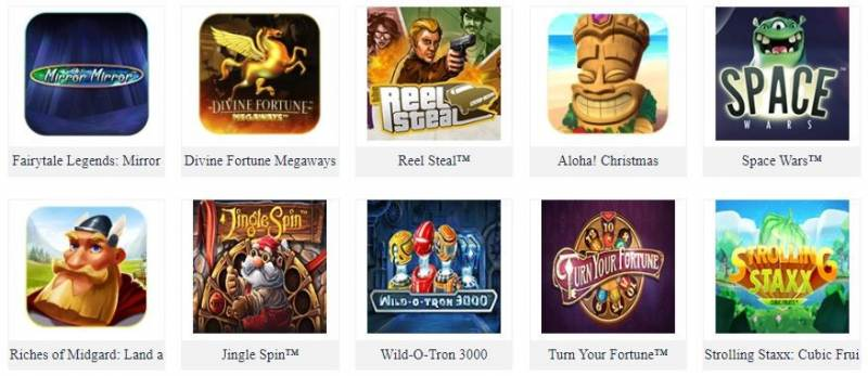 Gigantic Collections of Slot Game Fun88 - NetEnt