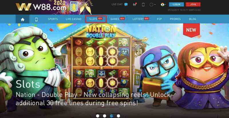 Join, Play, and Win as Slot King W88