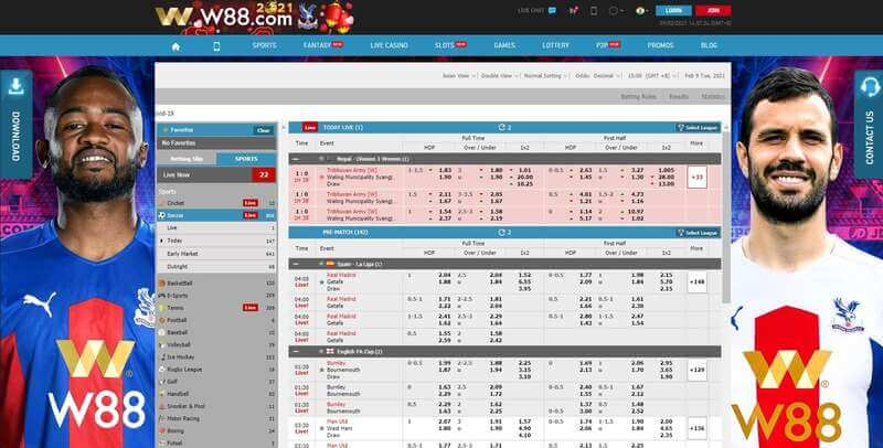 Sport W88 Desktop and Mobile Gaming Experience - Desktop
