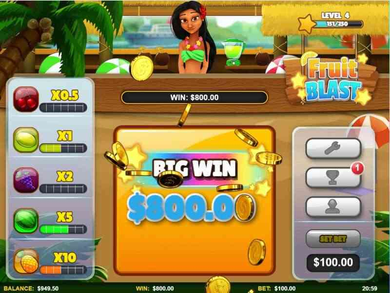 Offered Games in Microgaming W88 Review - Fruit Blast