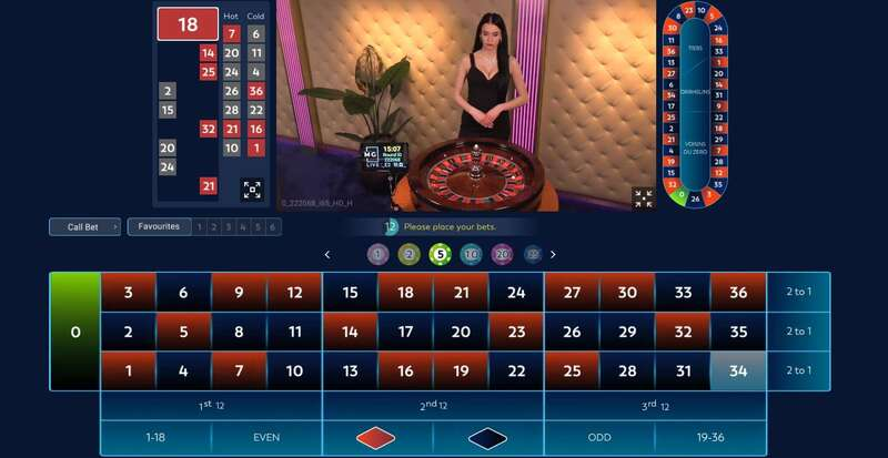 W88 Club Massimo in Partnership with MG Live - Roulette