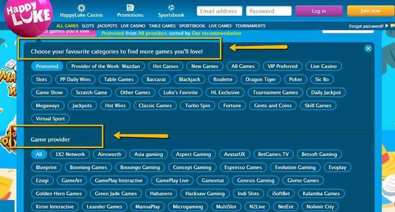 Casino Games You Can Enjoy at Happyluke Club.com India