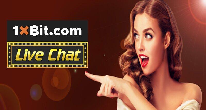 1XBIT Live Chat - A World Class Customer Service