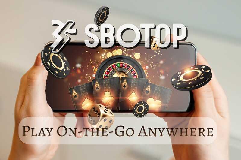 Choose between SBOTOP WAP Site or Website Access