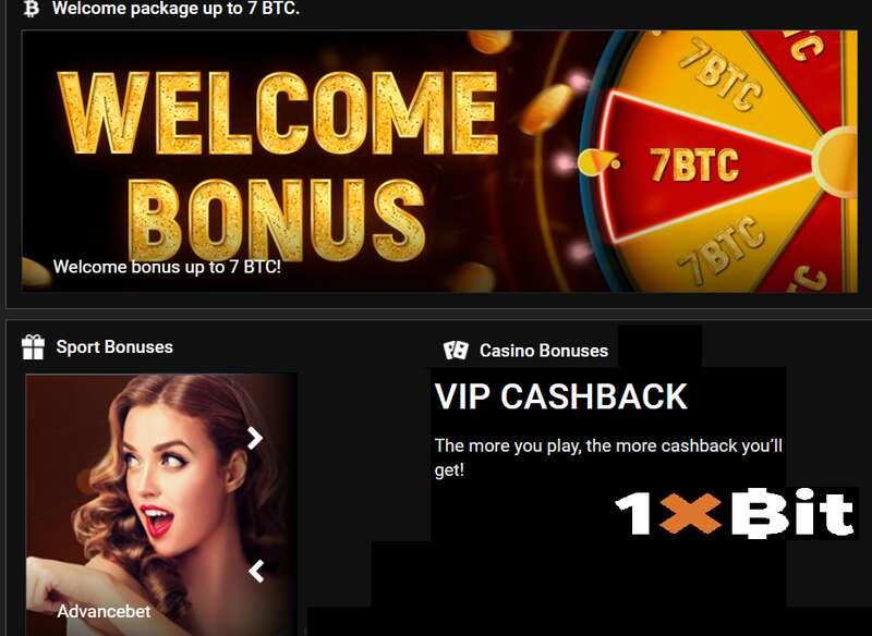 Register to Enjoy Various Promotion 1XBIT